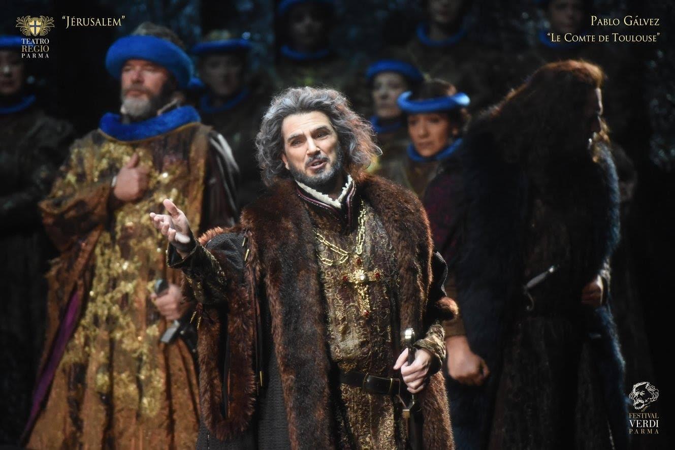 El barítono Pablo Gálvez debuta en Moscú