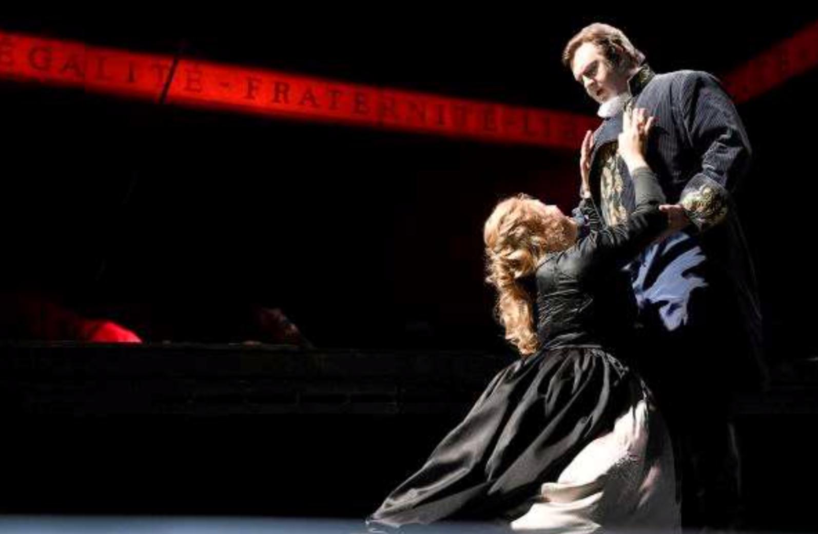 Andrea Chenier en la Deutsche Oper. Foto: B. Stöss