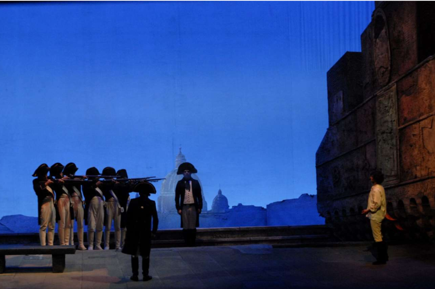 Tosca en la Deutsche Oper