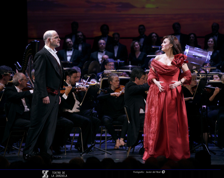 Concierto de Navidad en el Teatro de La Zarzuela. Foto: Javier Del Real