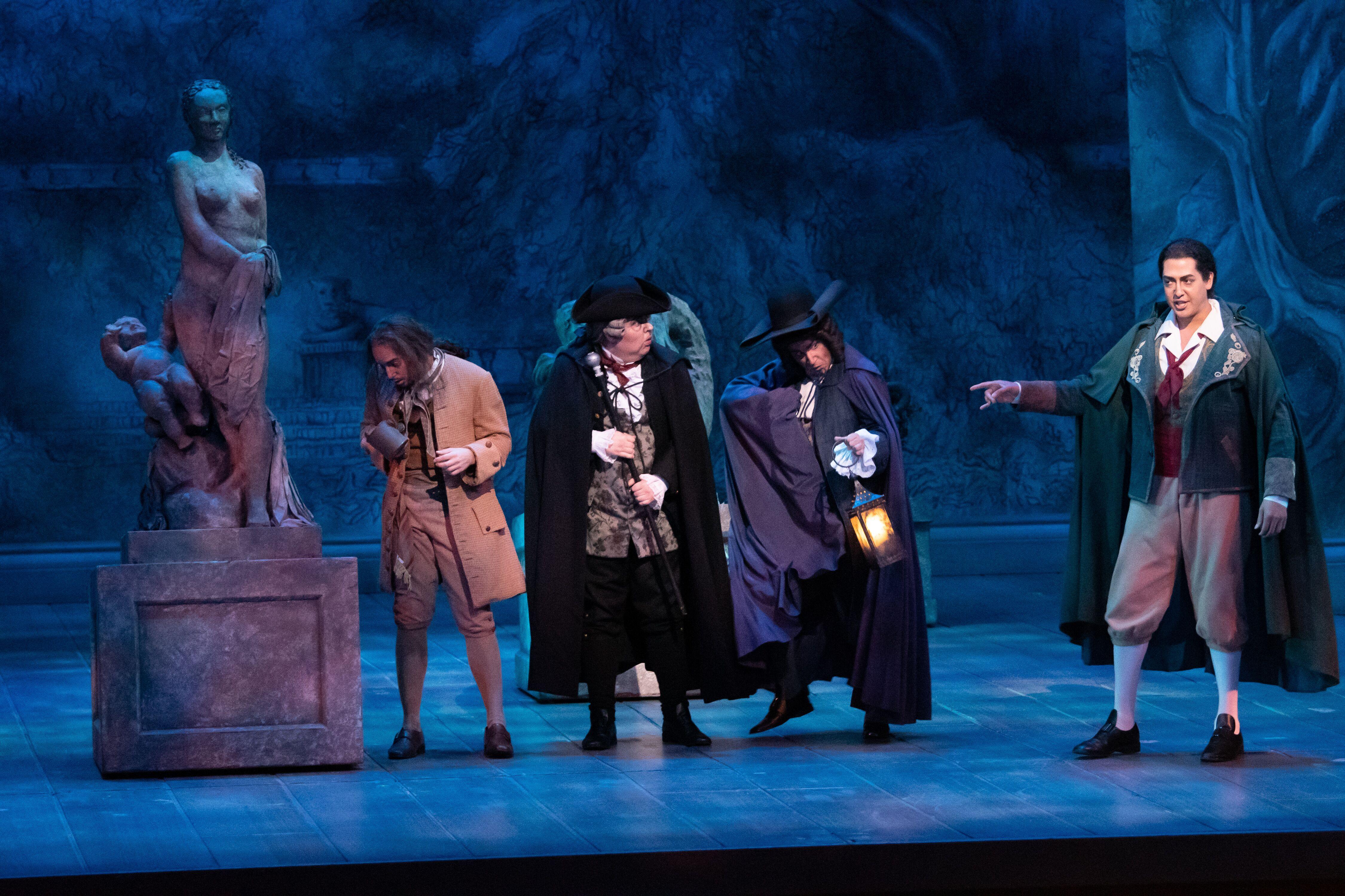 'Las Bodas de Fígaro', una puesta divertida con voces sublimes