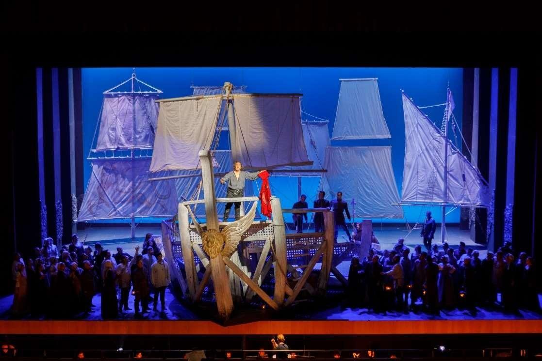 Otello en Pamplona. Foto: I. Zaldúa