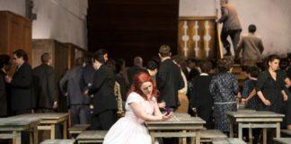 La Sonnambula at the Deutsche Oper. Photo: Bernd Uhlig