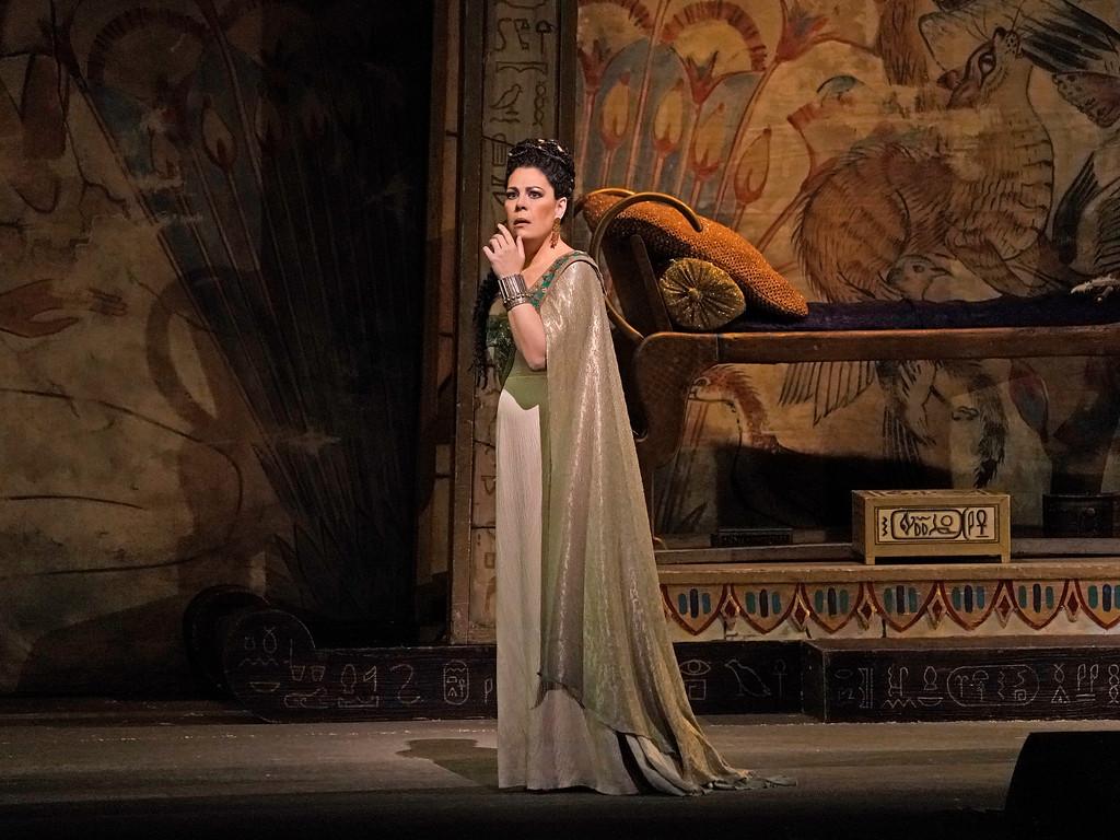 Aida en el Met. Foto: Ken Howard / Met Opera