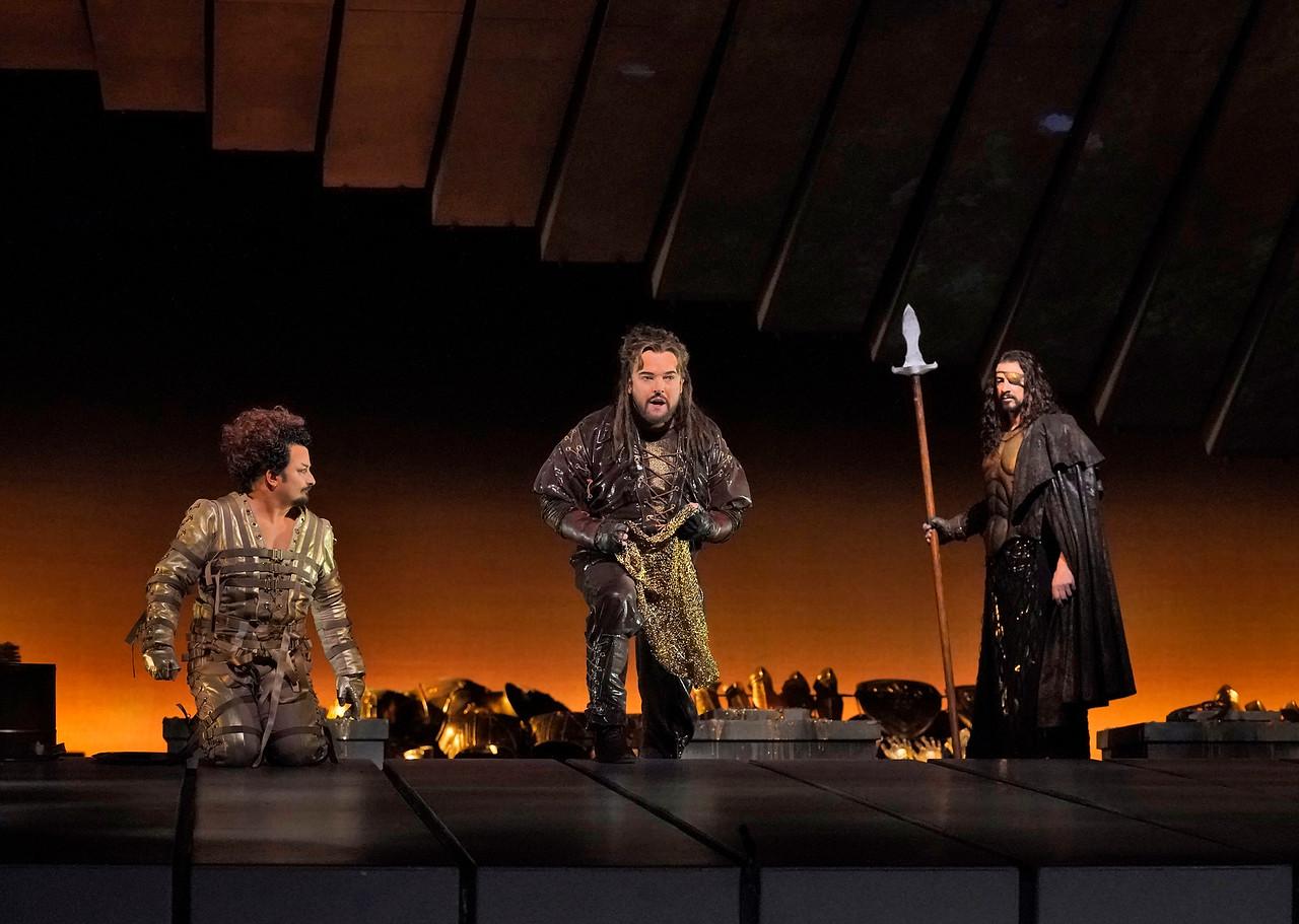 Das Rheingold de Wagner. Ken Howard / Met Opera