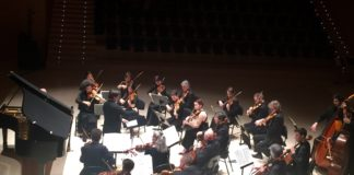 Orquesta de Cámara de Auvergne, que dirigida por Roberto Forés Beses