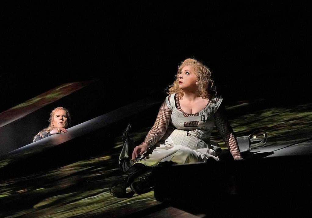 Stefan Vinke y Christine Goerke. Foto:  Ken Howard / Met Opera