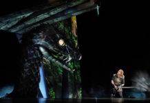 Stefan Vinke como Sigfrido. Foto: Ken Howard / Met Opera