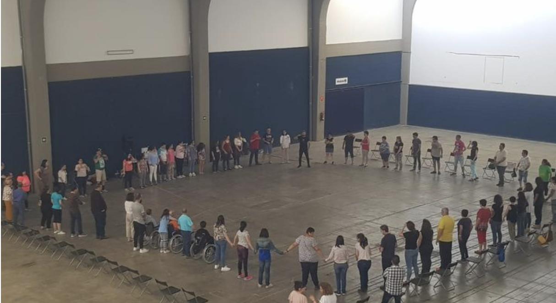 Más de 300 figurantes ensayan la ópera 'Sansón y Dalila' del Festival de Mérida