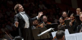 Sinfonía nº 9 de Gustav Mahler. Gustavo Gimeno. Foto: Miguel Lorenzo