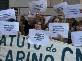 Teatro Nacional de São Carlos e Companhia Nacional de Bailado strike