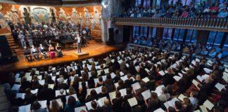 Multitudinario Requiem de Verdi en el Palau de Barcelona