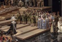 Turandot en el Teatro Colón de Buenos Aires. Foto: Arnaldo Colombaroli