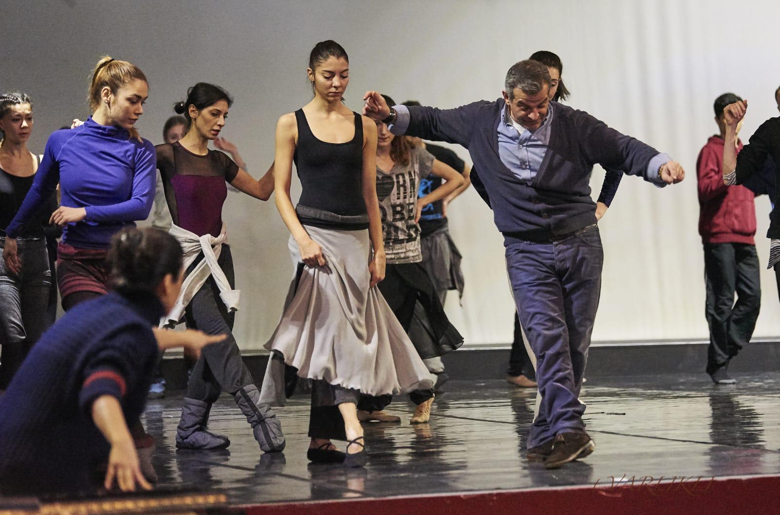 El bailarín y coreógrafo, en un momento del montaje