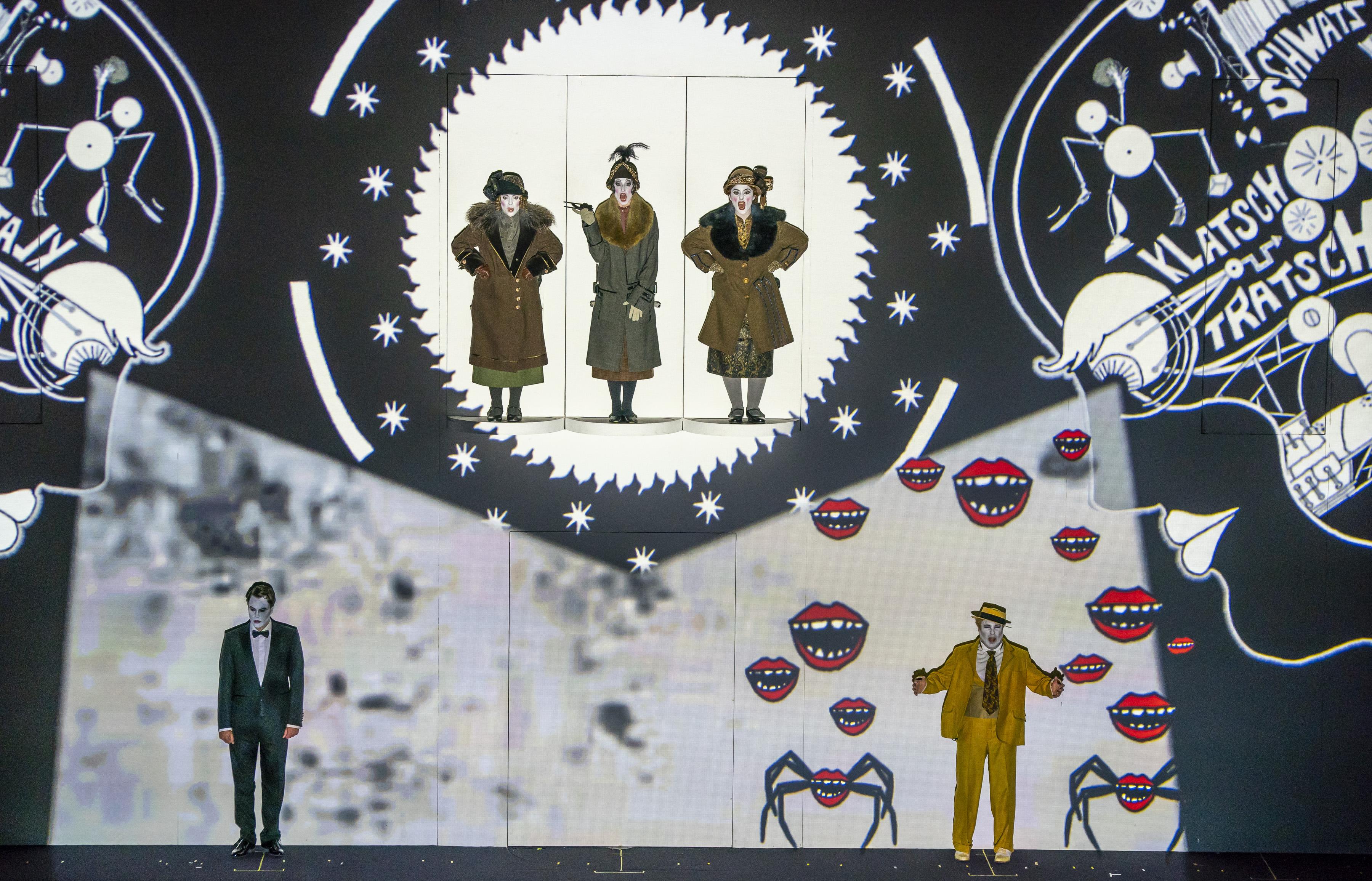 El festival Mostly Mozart refresca el verano de Nueva York con La Flauta Mágica - y alucinógena – de la Komische Oper