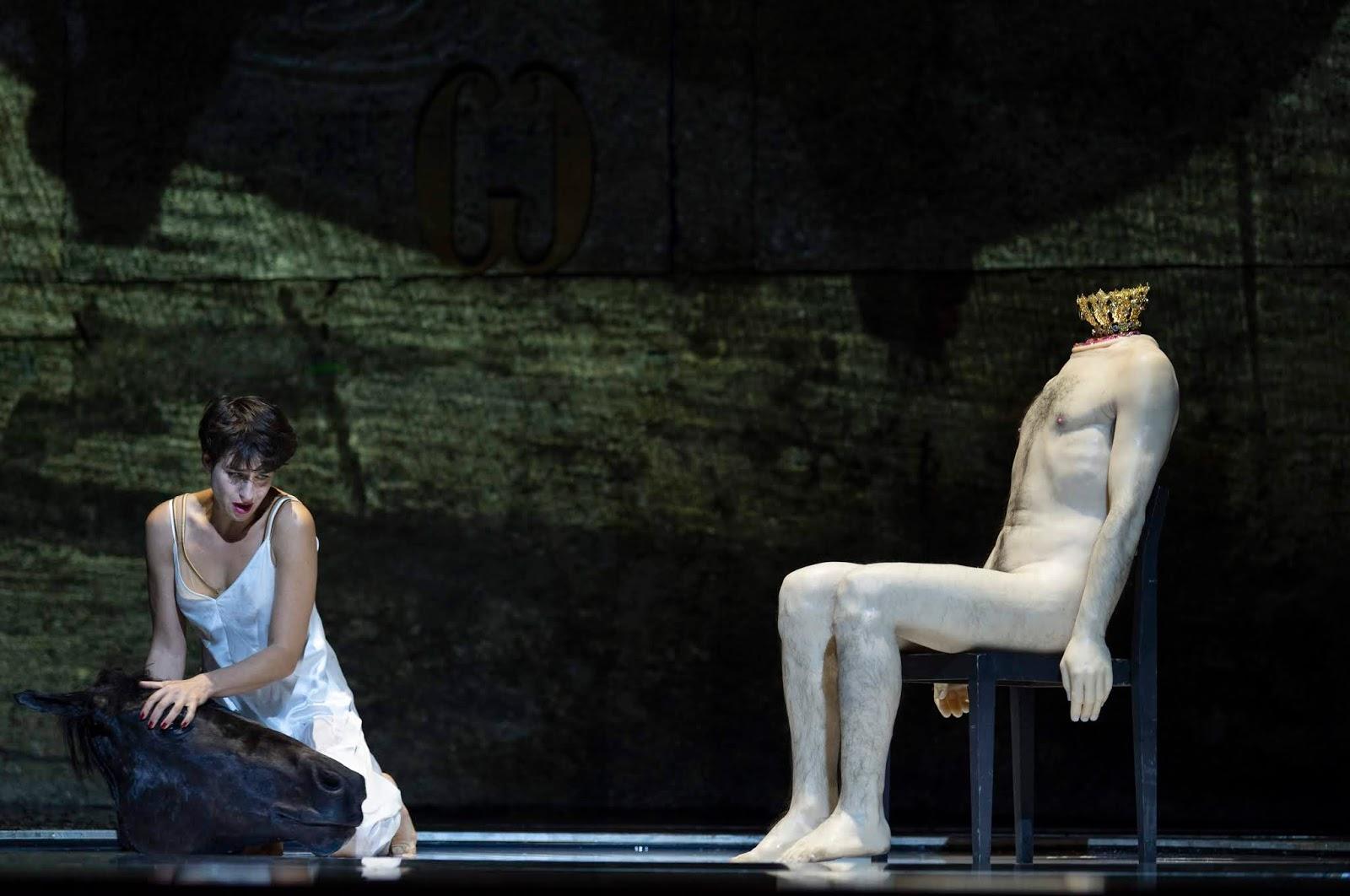 Asmik Grigorian (Salome) © Salzburger Festspiele / Ruth Walz