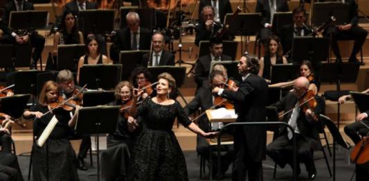 Imagen del concierto de Ainhoa Arteta. Foto: I. Zaldúa