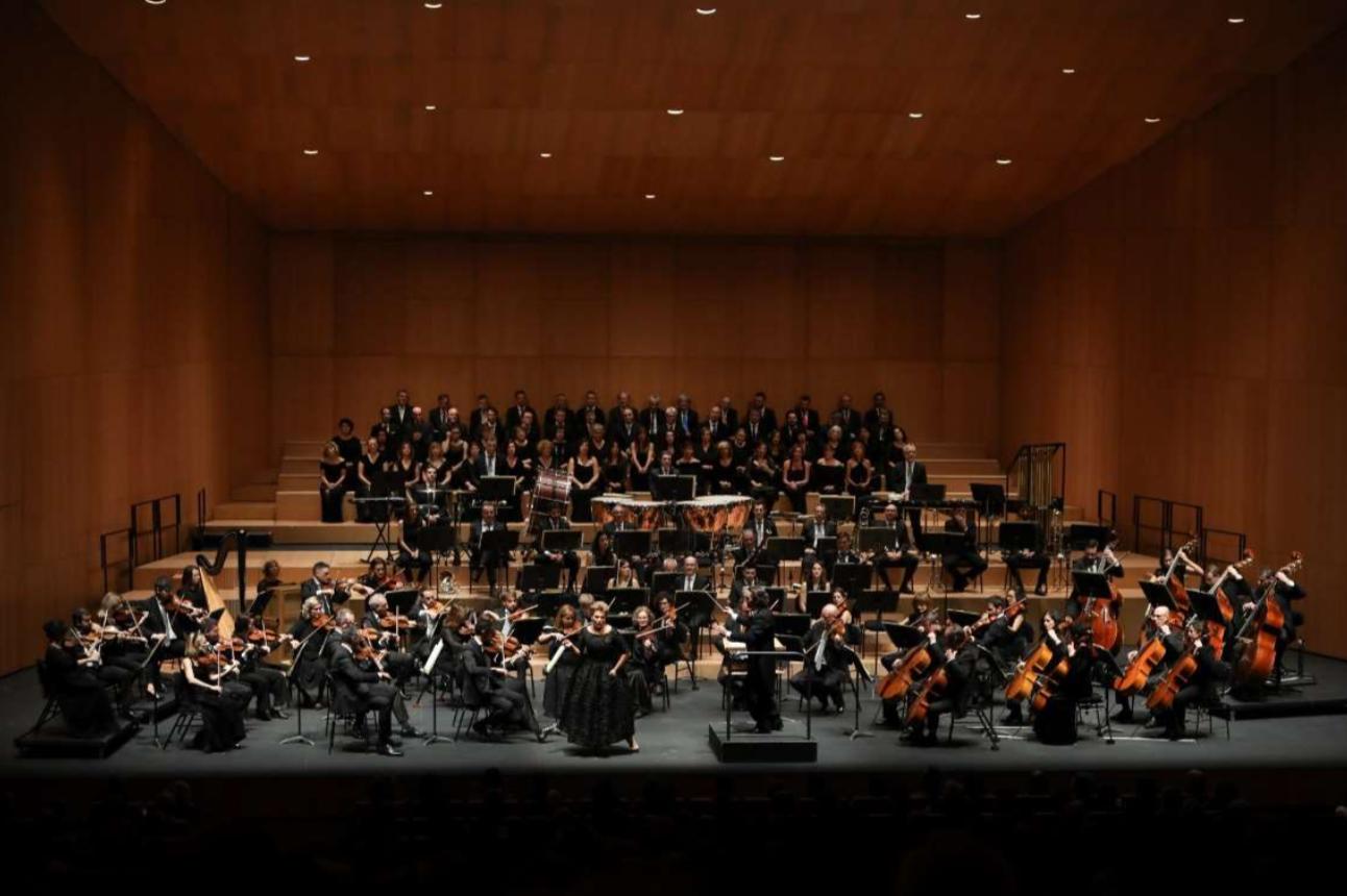 Imagen del concierto de Ainhoa Arteta