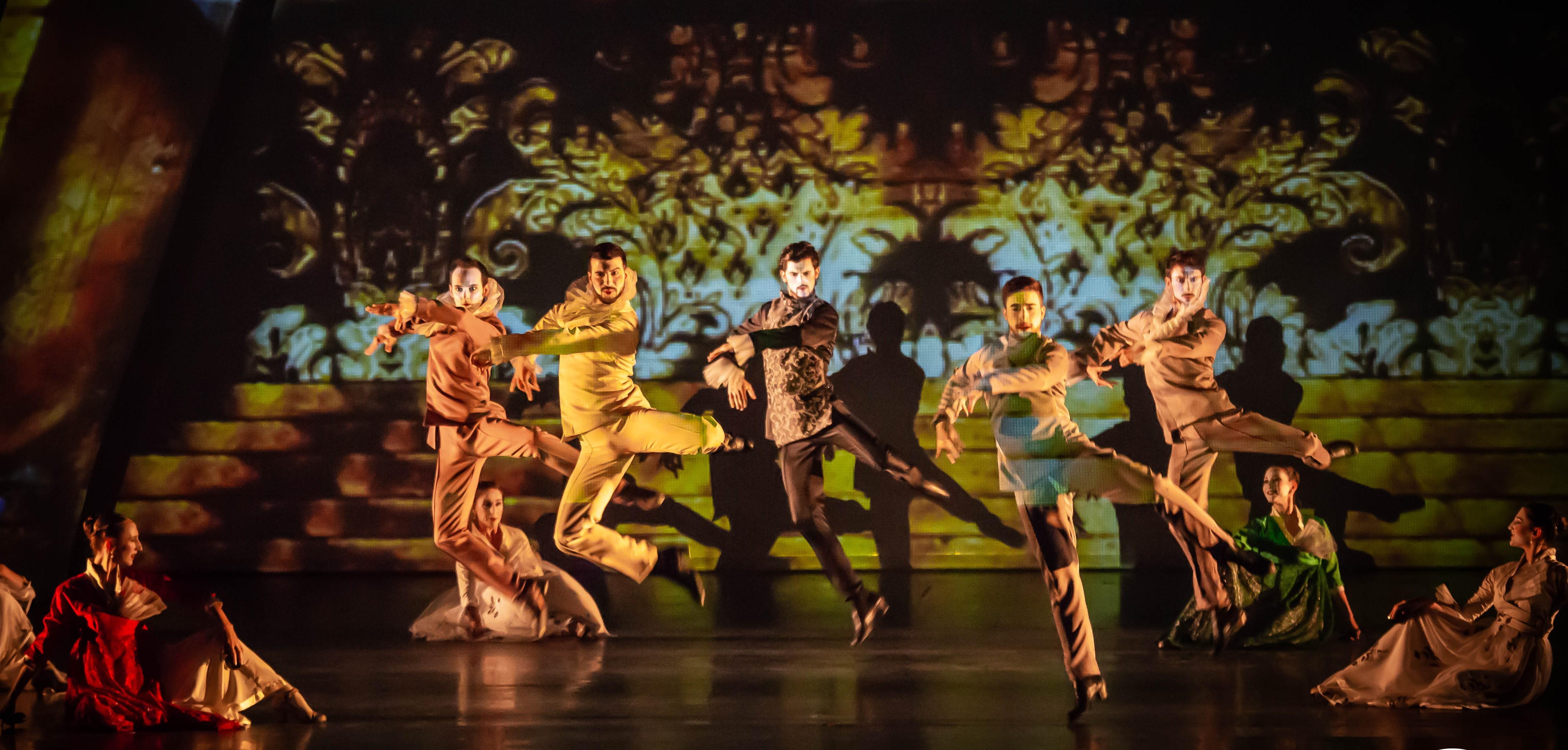 Fígaro. Barbero de Sevilla, de Ibérica de Danza. Foto: Miguel Ángel Ramos