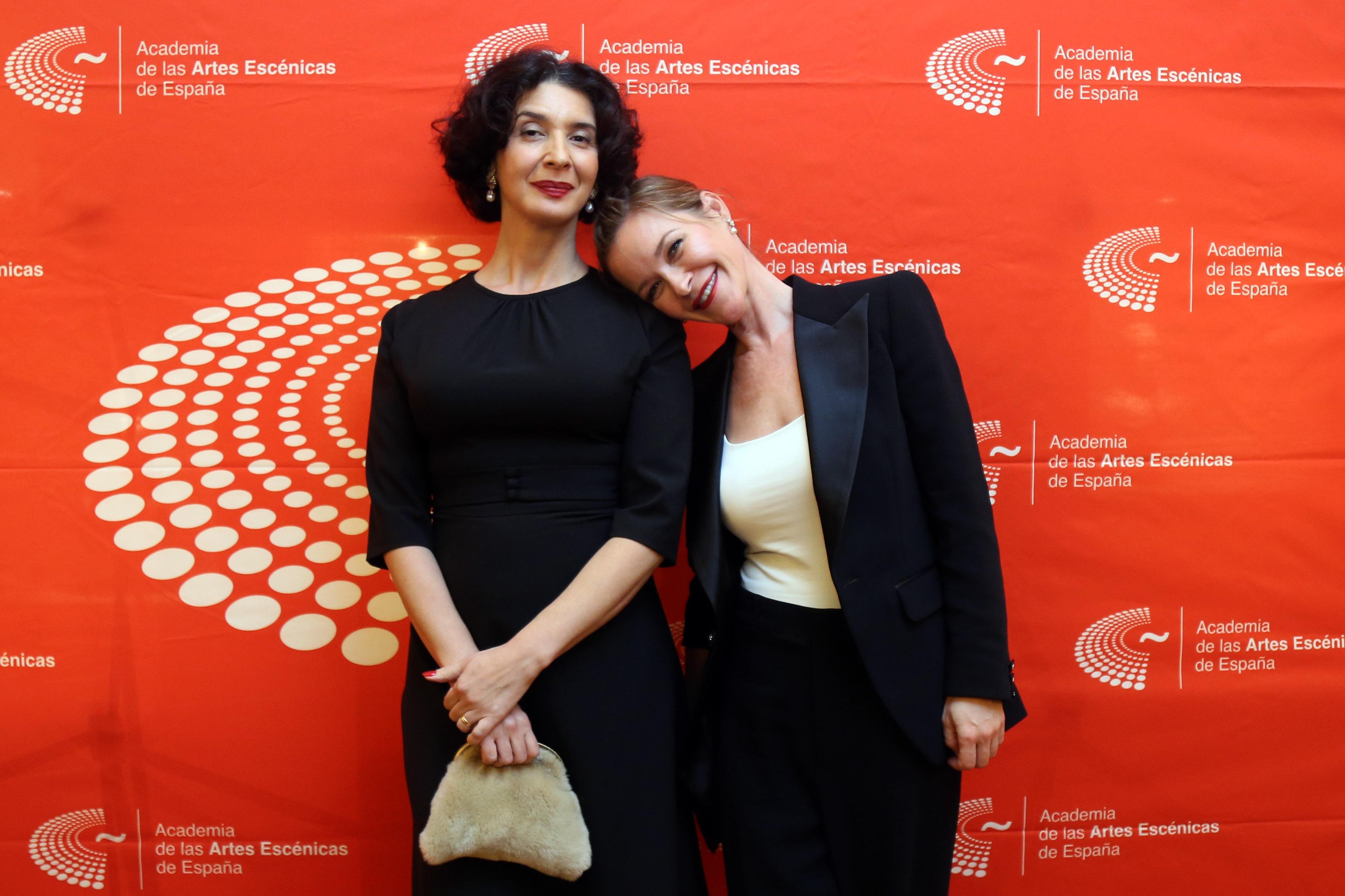 Eugenia Eiriz y María Esteve