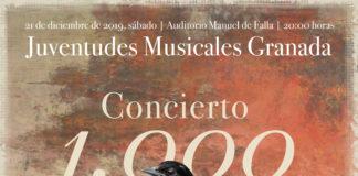 Juventudes Musicales Granada programa su Concierto nº 1.000