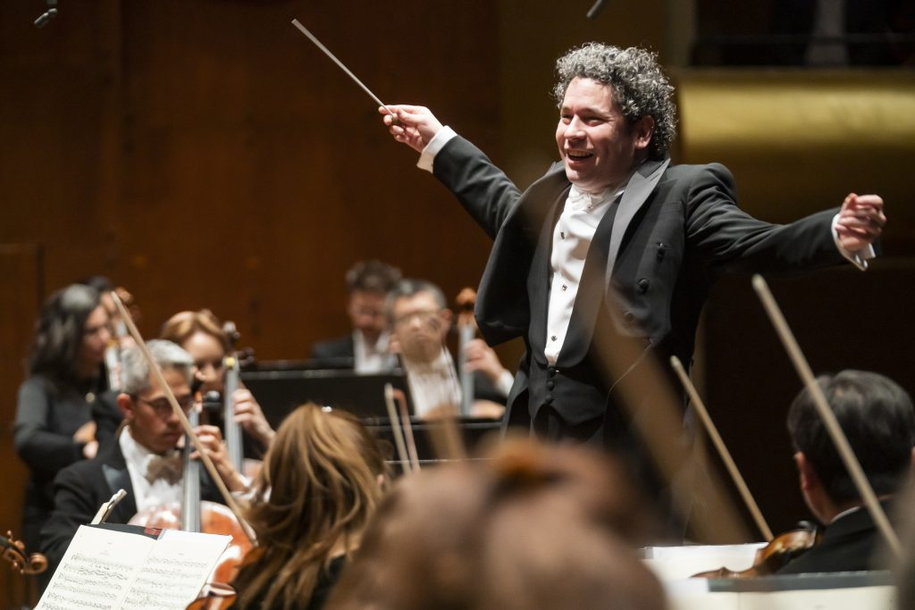 Dudamel. Foto: Chris Lee