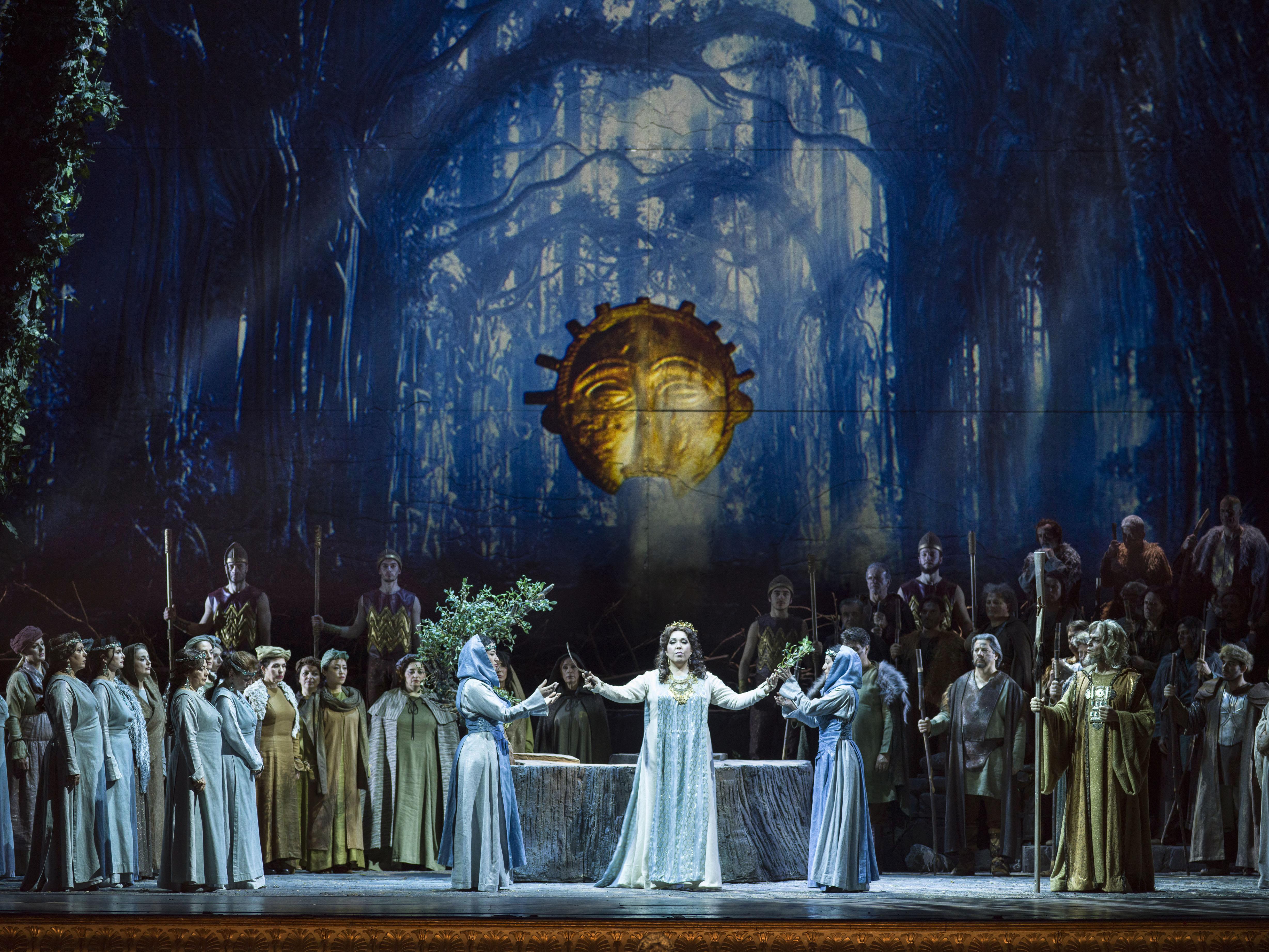 Norma en el Teatro San Carlo