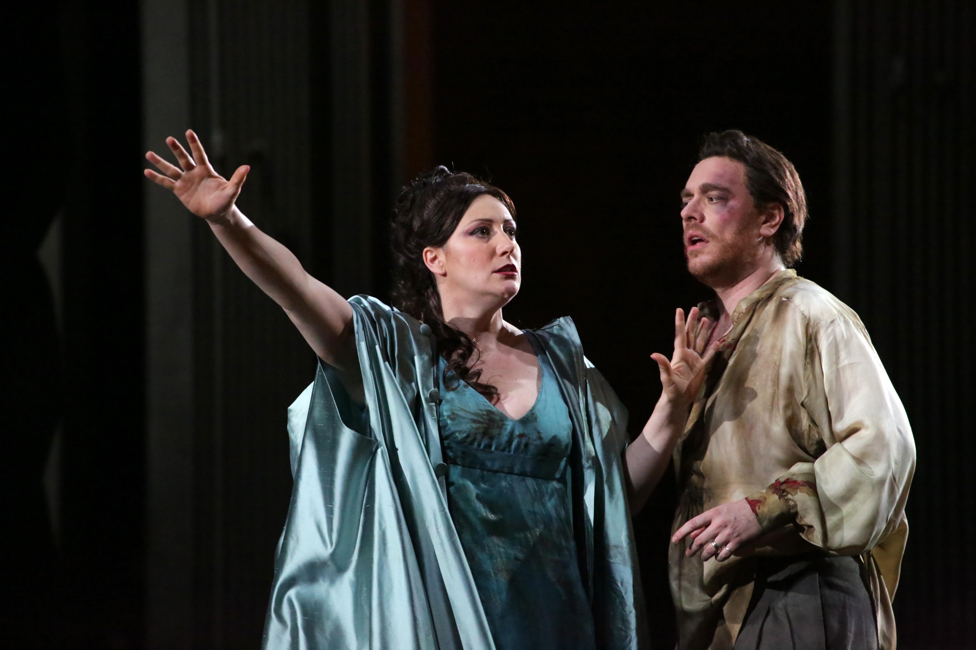 Tosca en la Scala. Foto: Brescia/Amisano Teatro alla Scala