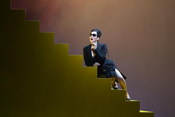 Joyce DiDonato en Agrippina.  Foto: Marty Sohl / Met Opera