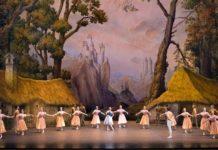Giselle. Ballet de la Ópera de París. Con diseños de Alexander Benois de 1910
