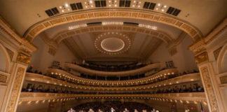 John Eliot Gardiner en el Carnegie Hall