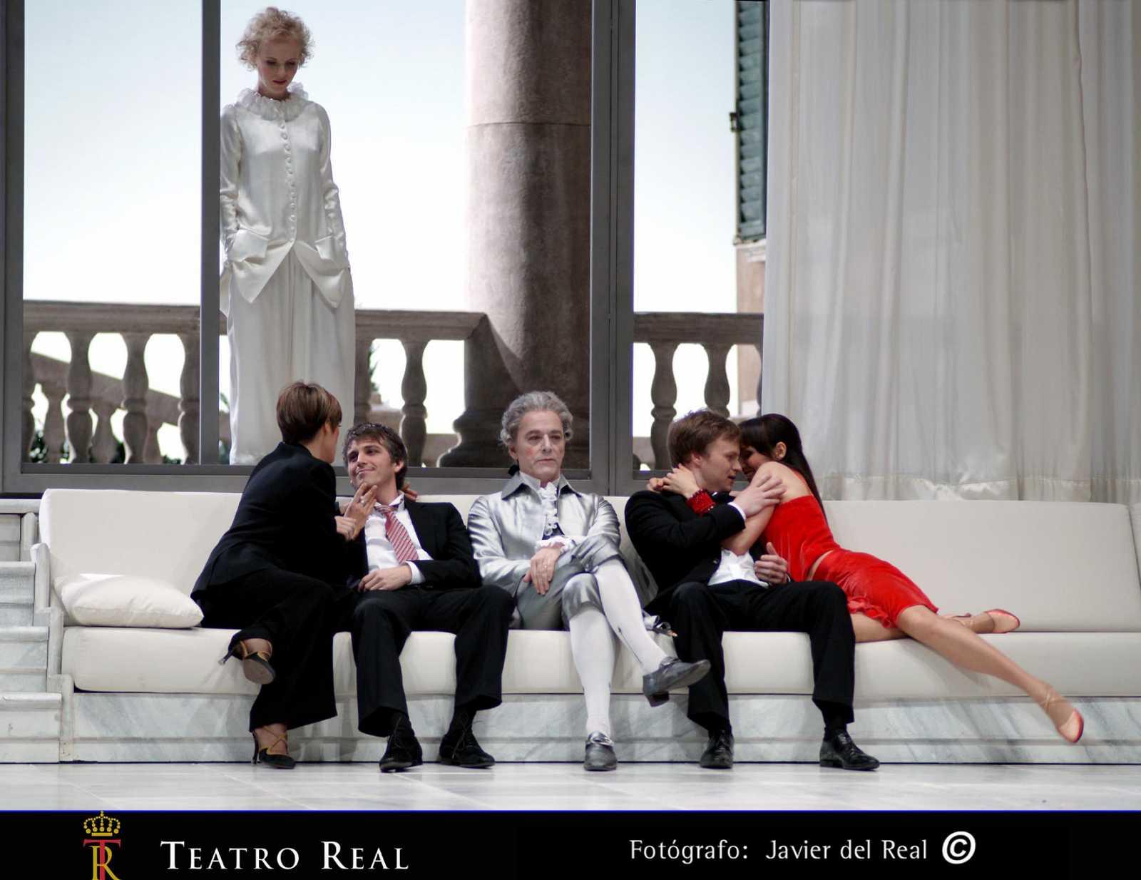 Così fan tutte en el Teatro Real