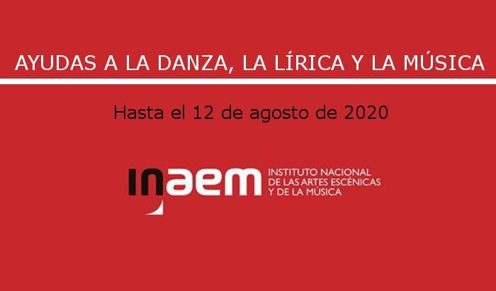 Ayudas anuales del INAEM.