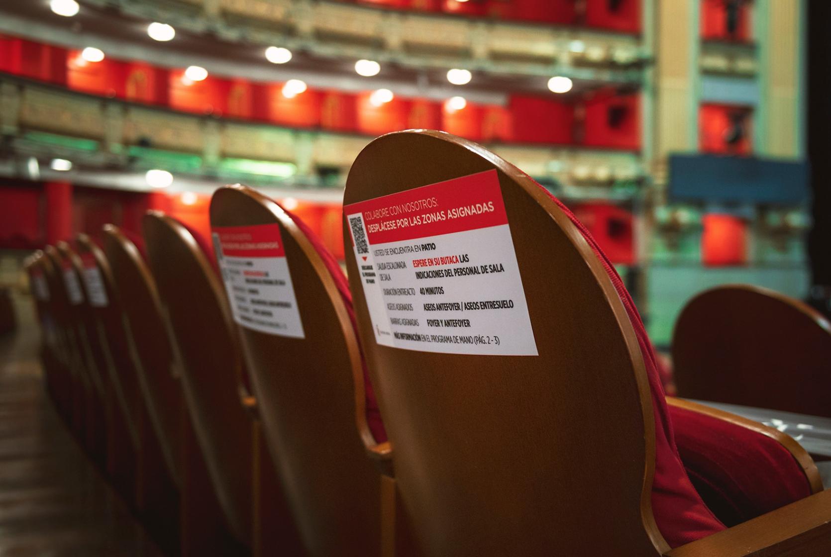 Un estudio del berlinés Charité-Institute afirma que es posible volver a los aforos completos en teatros.