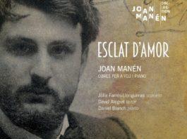 Portada del disco dedicado a la obra del compositor Joan Manén