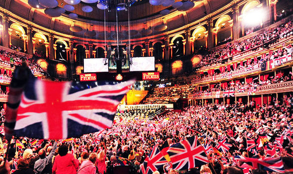 Rule, Britannia! y Land of Hope and Glory se interpretan en la última noche de Los Proms.