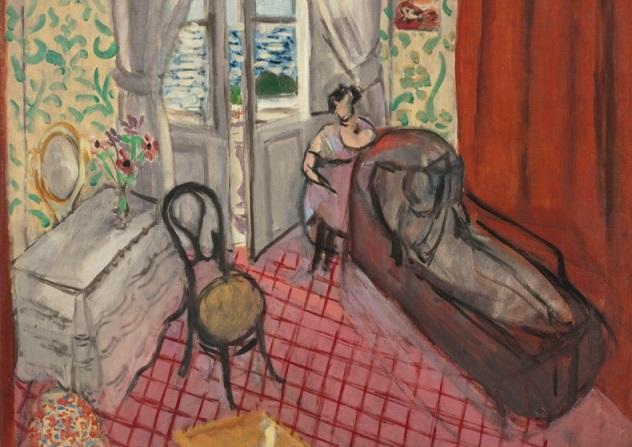 Le divan de Henri Mattisse (detalle).