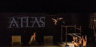 "Un momento de ""Atlas. Map of Moves"" de Dani Panullo."