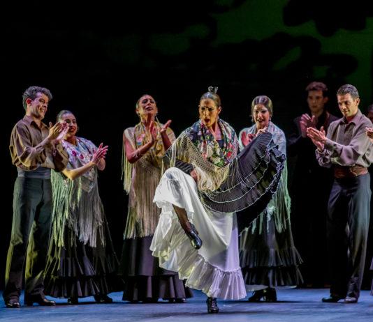 El Ballet Flamenco de Andalucía en acción
