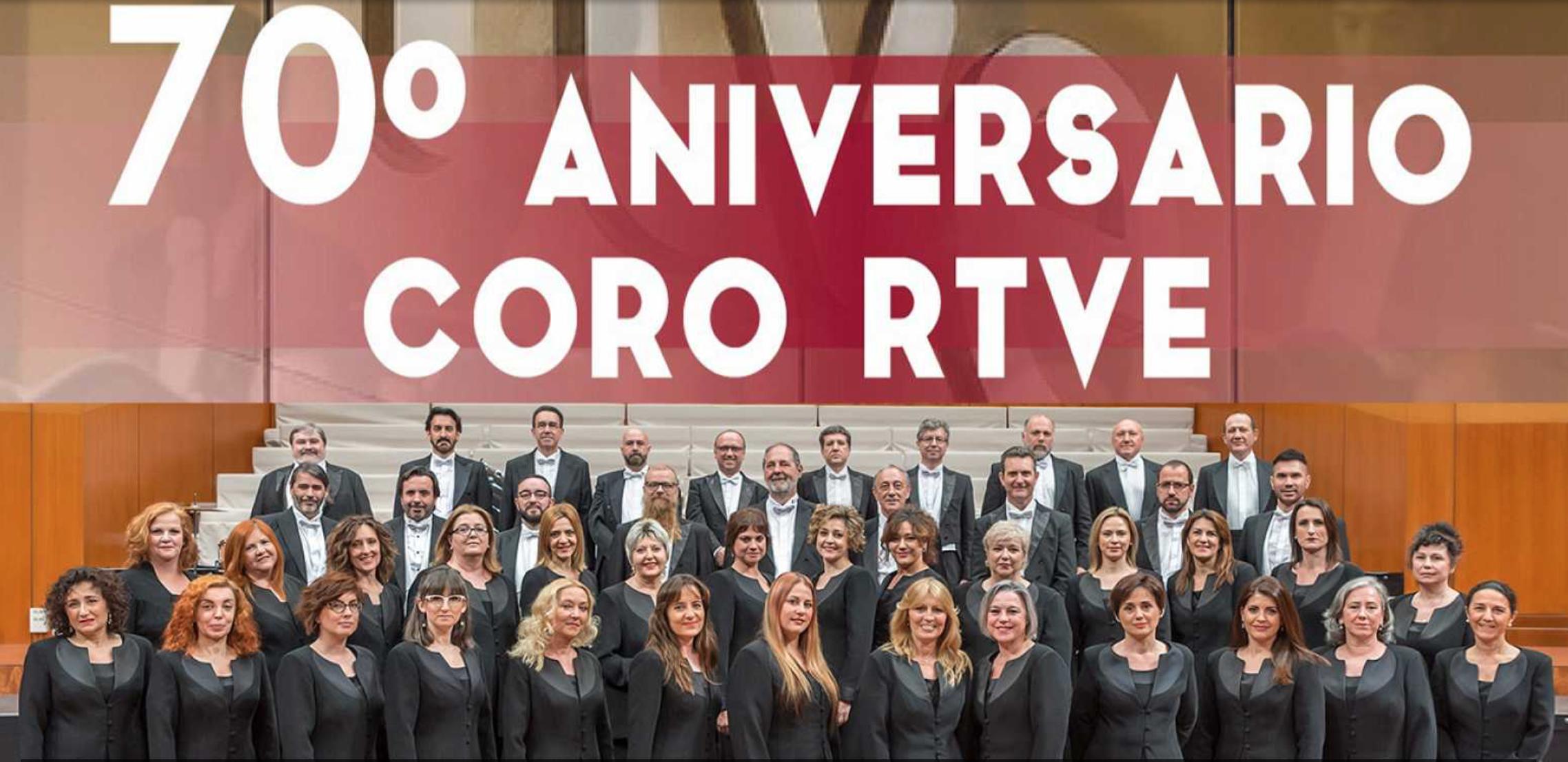 El Coro RTVE celebró este jueves su 70º aniversario