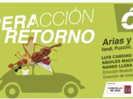 """La Asociación de Amigos de la Ópera de Vigo abre su programación del Otoño Lírico con """"Operación Retorno""""."""