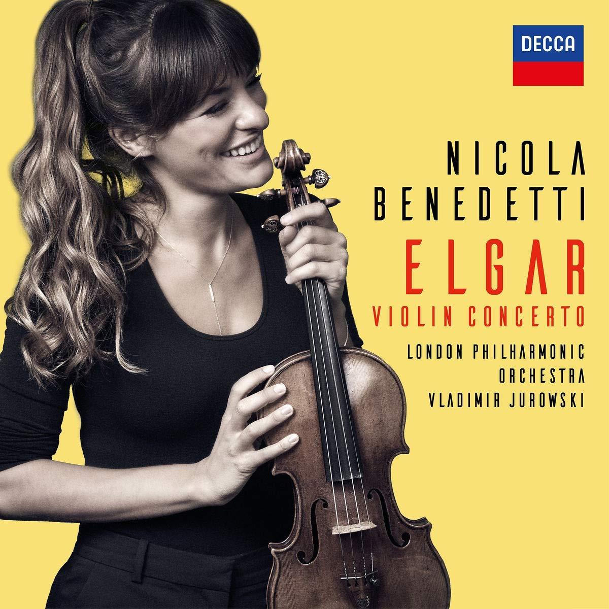 Portada del CD de Nicola Benedetti.