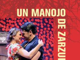 """Cartel de """"Un manojo de zarzuela"""" para el Teatro Cervantes de Málaga."""