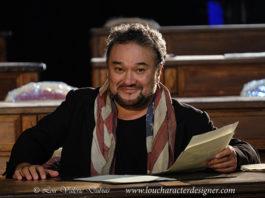 Ramón Vargas en un momento del ensayo en el Teatro Real / Foto: Lou Valérie Dubuis