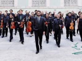 José Antonio Montaño y la orquesta La Madrileña en una imágen de archivo