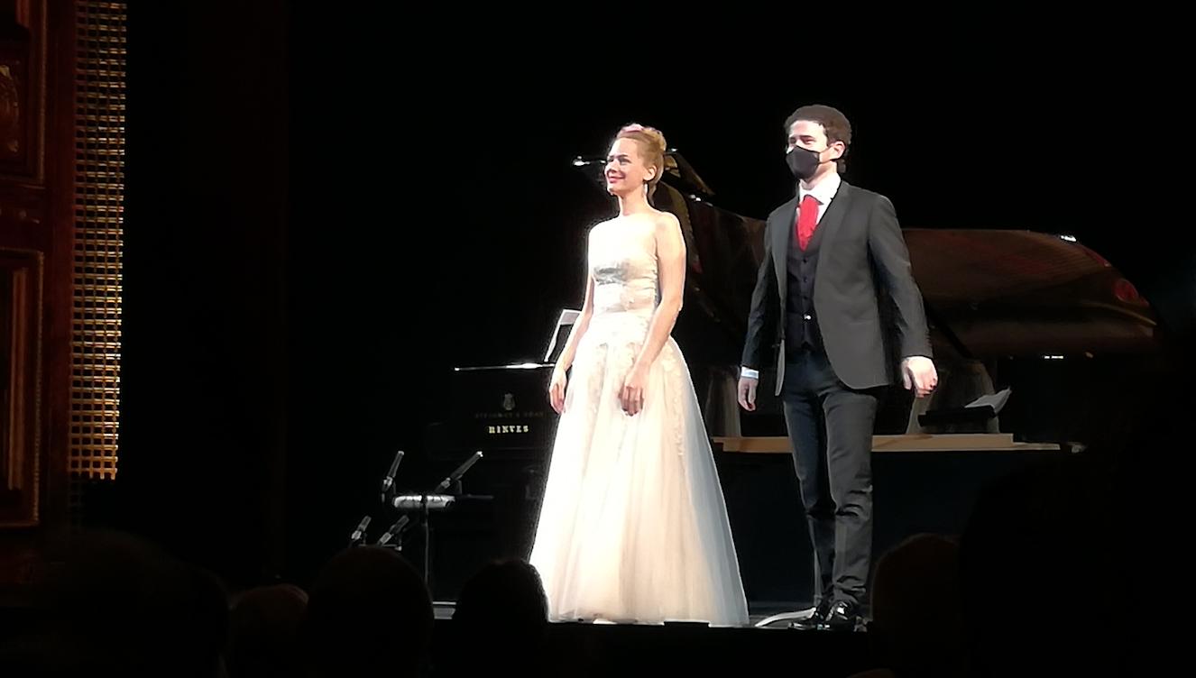 Anna Maria Richter y Ammiel Bushakevitz. pureza y naturalidad en el Ciclo de Lied