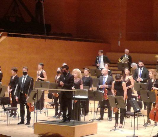 Nuno Coelho en el Auditori de Barcelona, en su debut al frente de la OBC
