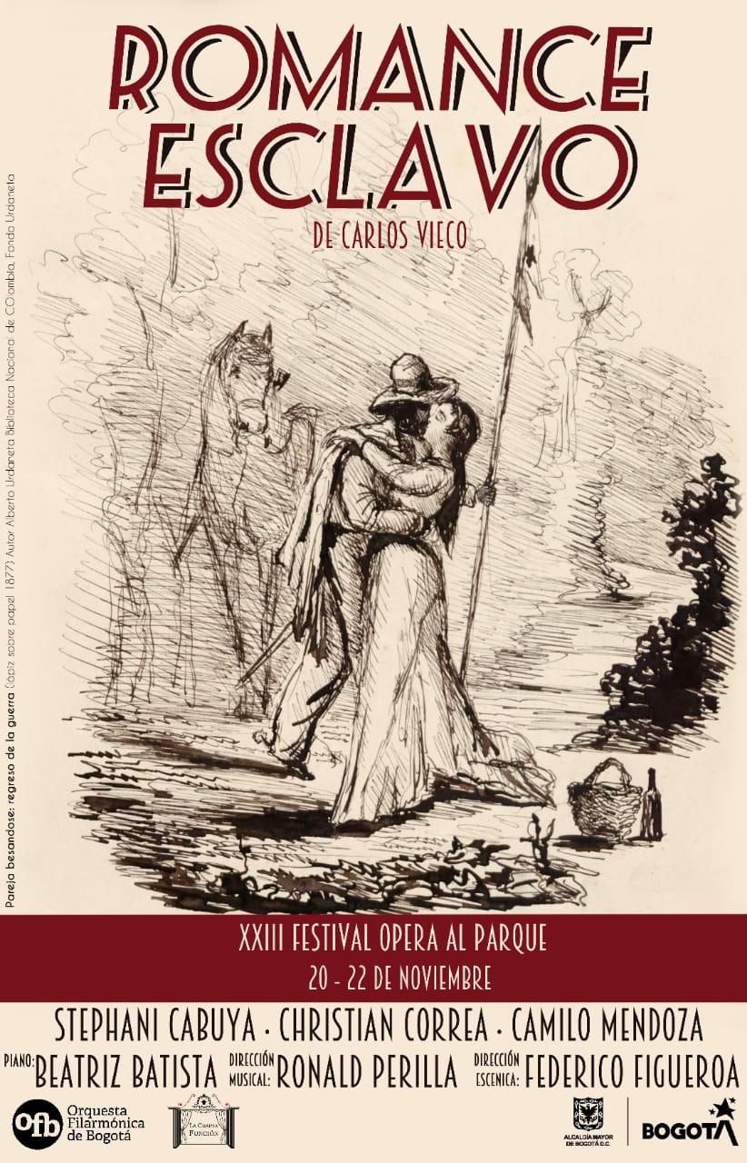 """La zarzuela """"Romance esclavo"""" volverá a pisar un escenario"""