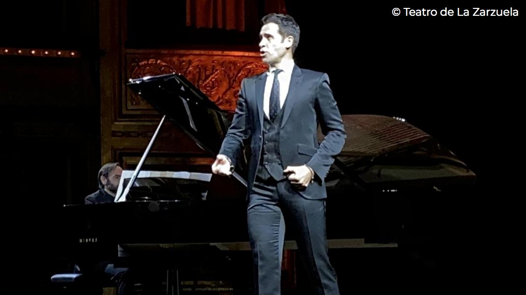 Ismael Jordi en el Teatro de la Zarzuela.