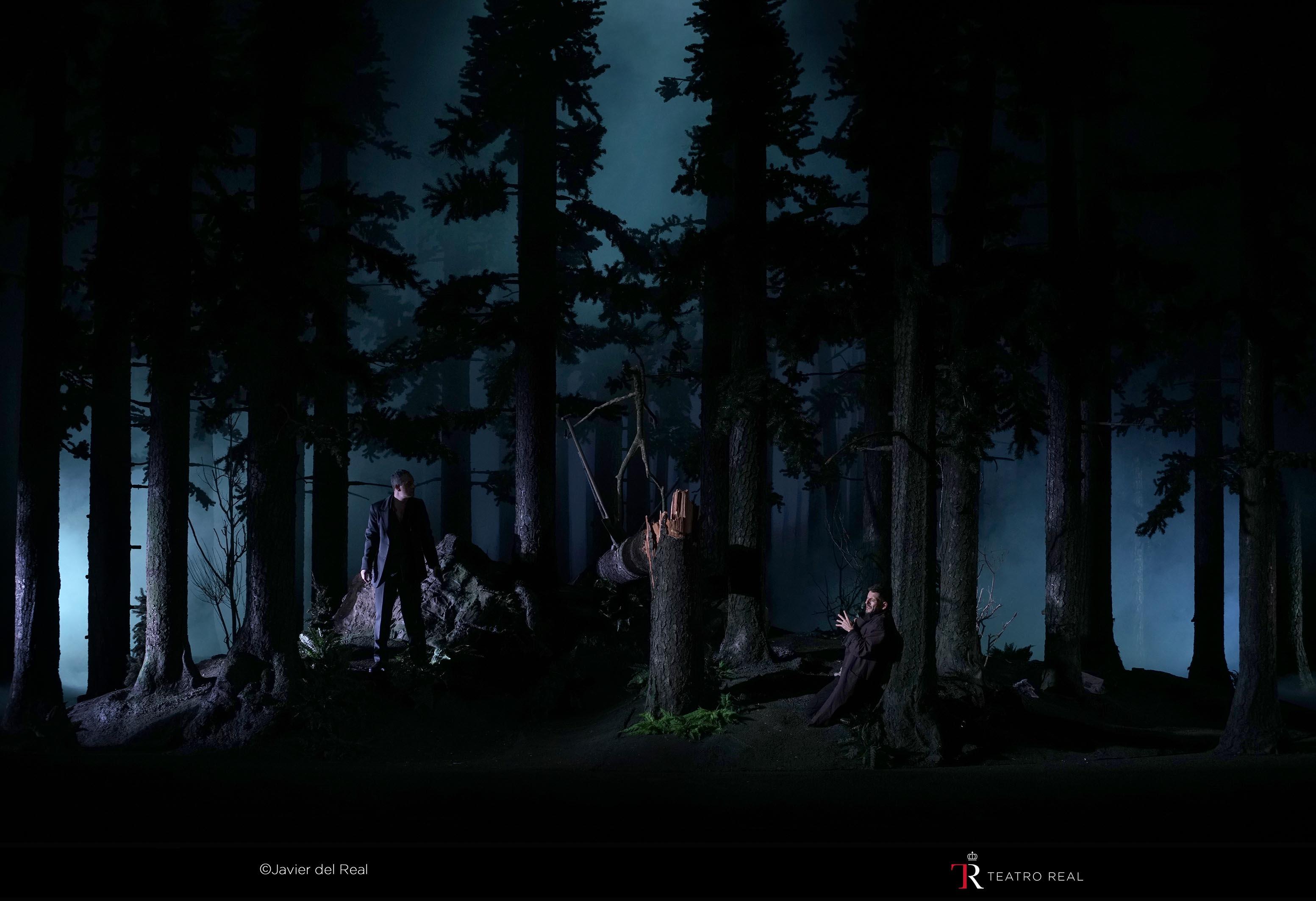 El bosque donde Don Giovanni y su colega Leporello se van de cruising y a colocarse